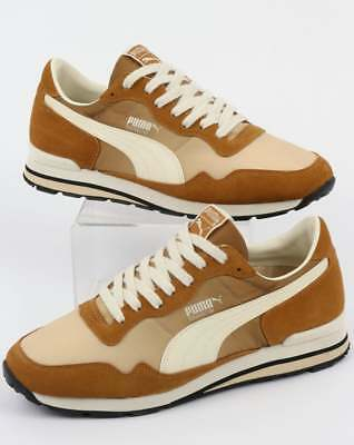 39638869ce3d11 PUMA RAINBOW OG Trainers Golden Brown Pebble - £45.00