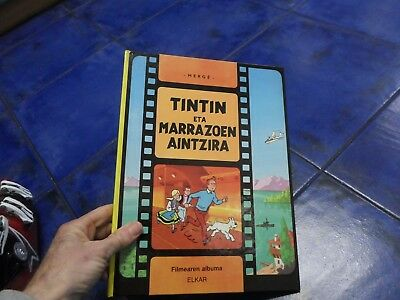 tintin euskera basque FIRST EDITION 199 ELKAR COLLECTION