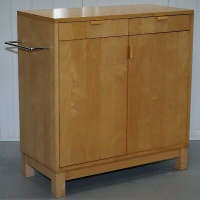 Softwood Sideboard Cupboard With Added Towel Rail Functional Piece Kitchen