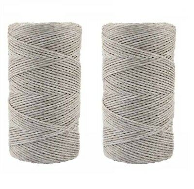 WHITE ELECTRIC FENCING POLY WIRE 200m 500m Polywire Twine Cord Sheep Horses