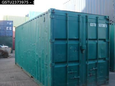 20ft Used Storage Container Ex Gravesend Lock Box Good Condition
