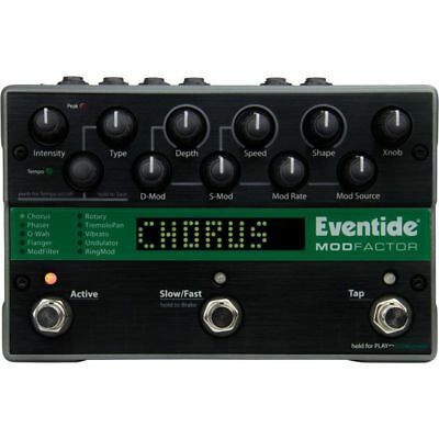 Eventide ModFactor Modulator - demo *NEW* modulation pedal time pitch factor h9