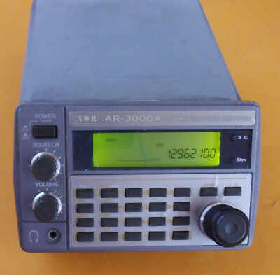 AR-3000A Monitor-Receiver 0.1000 Mhz - 2036.0000 Mhz_