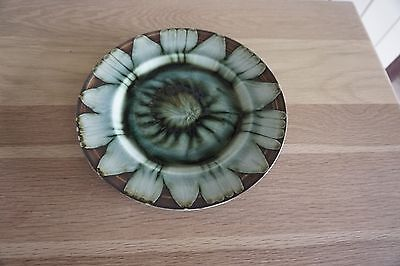 Bwthyn Pottery plate Barnmouth Wales 25cm diameter