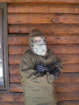 Radiation NBC size M to L Nuclear Biological Chemical Full fallout suit CBRN