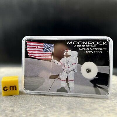Lunar Moon Rock Meteorite - GENUINE SPACE ROCK - RSE000