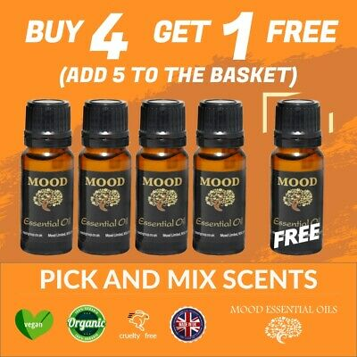 Essential Oils Pure 10ml Aromatherapy Natural Oil Fragrances Organic