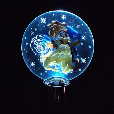 Disney Beauty & The Beast Holidazzler LED Light Up Ornament