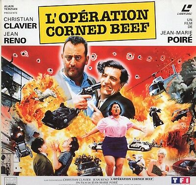 OPERATION CORNED BEEF WS VF PAL LASERDISC Christian Clavier, Jean Reno