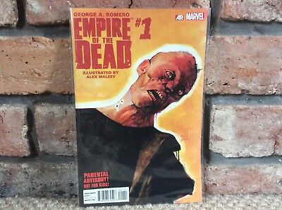 George A Romero's Empire Of The Dead 1  NM Act One 1st Print