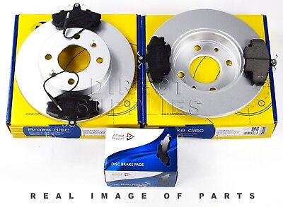 FRONT AXLE BRAKE SET DISCS PAD FOR FITS NISSAN QASHQAI COMLINE ADB01577 ADC0274V