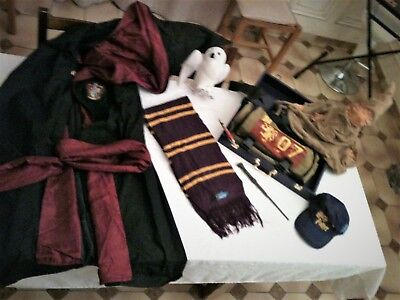 HARRY POTTER  Collection complète objets officiels