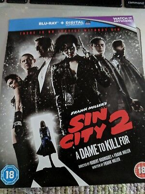 Sin city 2 a dame to kill for  UV code no blu ray Ultraviolet