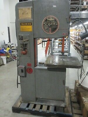 "USED DoAll Model 2013U 20"" Vertical Band Saw w/ Welder"