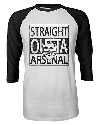 Straight Outta EMIRATES   //Compton Funny Arsenal Parody Football T Shirt