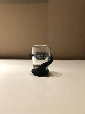 Kraken Spiced Rum Octopus Tentacle Wrapped Shot Glass (ONE) Great Gift