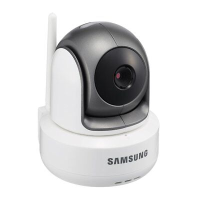 Samsung Wireless SEP-1003RW HD PTZ Video Baby Camera, White.