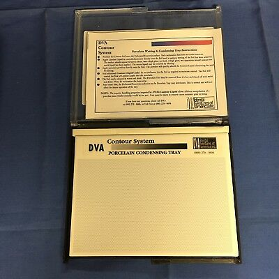 Dental Porcelain Wetting and Condensing Tray (wet tray) by DVA