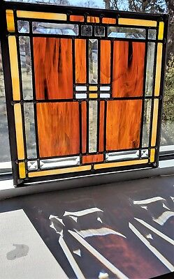Beautiful Beveled Stained Glass