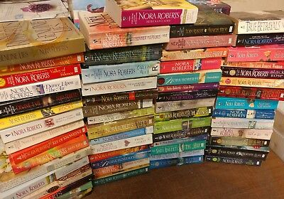 Lot of 10 Nora Roberts Irish MacGregor Romance Set PAPERBACK UNSORTED Books MIX