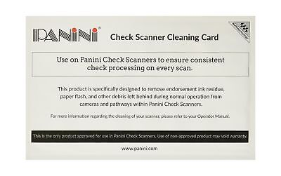 Panini 6KWPNI-CS2B15W5 Check Scanner Cleaning Card Featuring Waffletechnology...