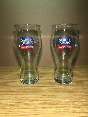 Sam Adams Set Of 2 Perfect Pint For The Love Of Beer Sensory Glasses 16 Oz