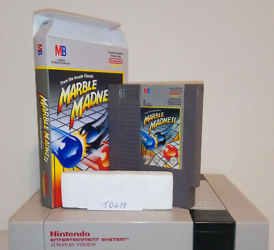 Nes Marble Madness PAL B (Nintendo Entertainment System) in box