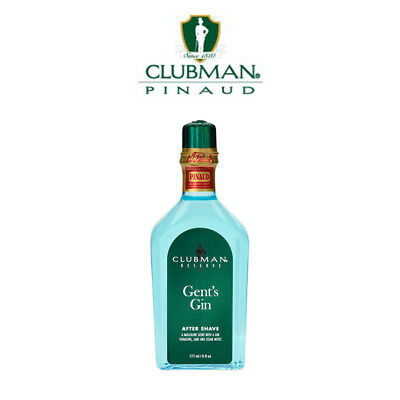 Clubman - Gents Gin After Shave Aftershave Lozione Dopobarba Pinaud 177 ml