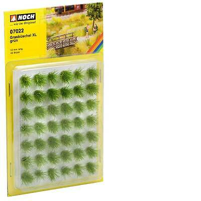 NOCH HO scale ~ 'GRASS TUFTS', GREEN X-LARGE ~ # 07022 suit model train scenery