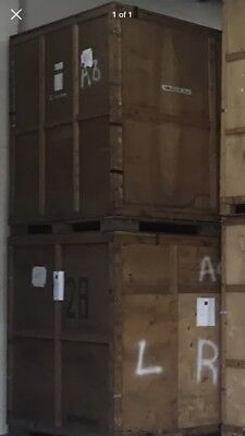 REMOVALS WOODEN STORAGE CONTAINER 250CUBE ( 40 available ) 320's available too.