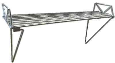 Towel Rail Add On Shelf Linen Drying Laundry Collapsible