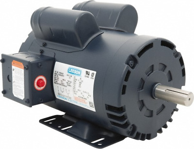 Leeson 120554.00 - 5 Hp 3450 Rpm Electric Motor 1-Ph 230 Volt
