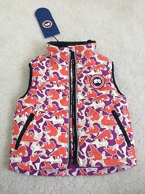 Canada Goose Girls Down Vest Size 2-3 BNWT