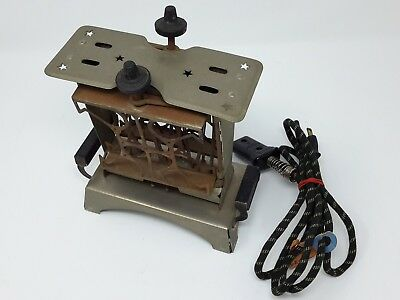 Vintage Star Electric Toaster #75000 with original cord Flip Sides