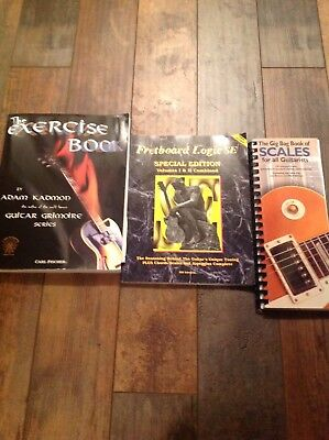 The Gig Bag Book of Scales,  Fretboard Logic- Special Edition, The Exercise Book