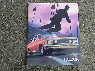Ford 1969 Xw Falcon Range Incl Gt Brochure, Plus ''rare'' Colour And Trim Chart