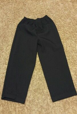 boy black dress pants size 5 5t