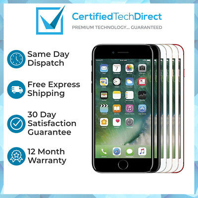 Apple iPhone 7 32GB 128GB 256GB A1778 Refurbished AU Stock 6 Month Warranty