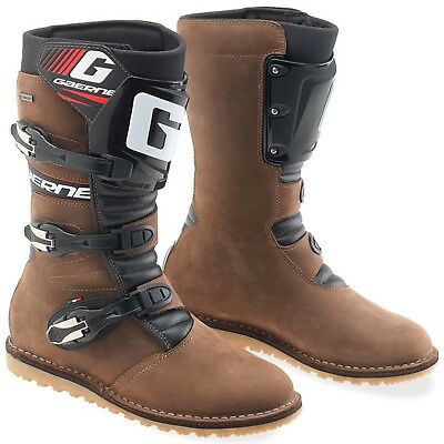 Gaerne G-All Terrain Gore-Tex Adult Motocross Dirtbike Boots BROWN Size 43-47