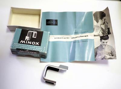 Minox Model B Right Angle Finder With Pamphlet In Box Unused Condition