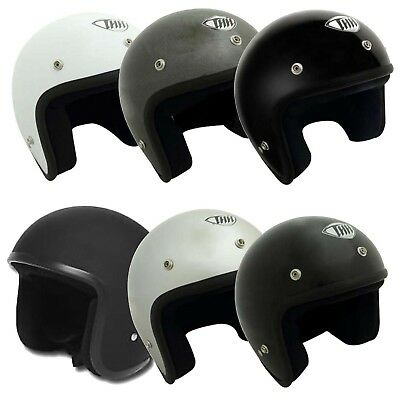 THH T-380 Open Face Motorcycle Scooter Quad Bike Helmet 2XS-3XL