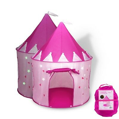 Girls Princess Castle Kids Play Tent House Pink Indoor Outdoor Playhouse Toy New  sc 1 st  PicClick & TENT PLAYHOUSE Canopy Princess Castle Kids Girls Toys Play House ...