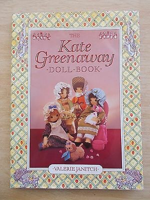 The Kate Greenaway Doll Book~Valerie Janitch~Dolls~Outfits~Furniture~Patterns~HB