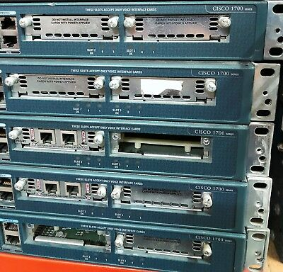 CISCO Router 1700 Series