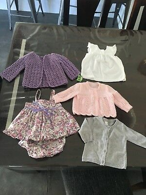 Baby Girls Clothes Assorted Sz 000