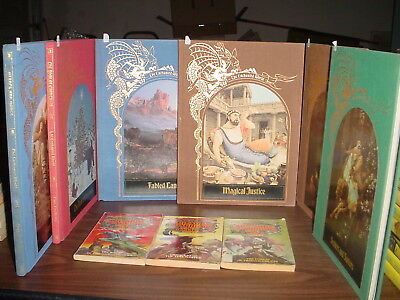 Six Time Life Enchanted World Books and Wizards Warriors and You