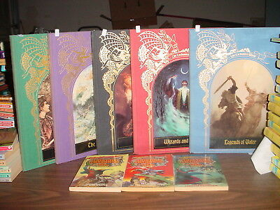 Five Time Life Enchanted World Books and Wizards Warriors and You