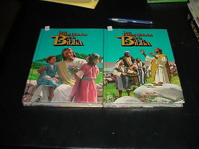 Uncle Arthurs Bible Stories 8 and 9 in Spanish
