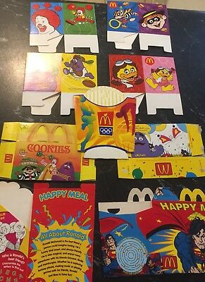 McDonalds Toy Packaging