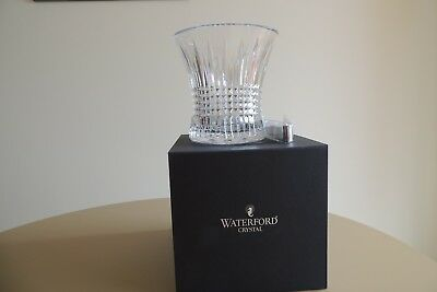 Waterford Lismore Diamond Crystal Ice Bucket w/Tongs Made in Ireland 165642 New
